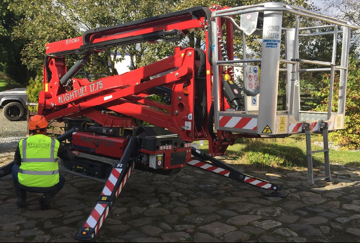 Lightweight And Compact 17m Boom Provides Greater Accessibility For Cleaning Company