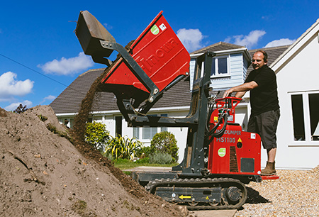 Hinowa mini-dumper makes light work for Dorset landscaping company