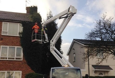 Isoli Boom Solves Working At Height Problem For Council Maintenance Job