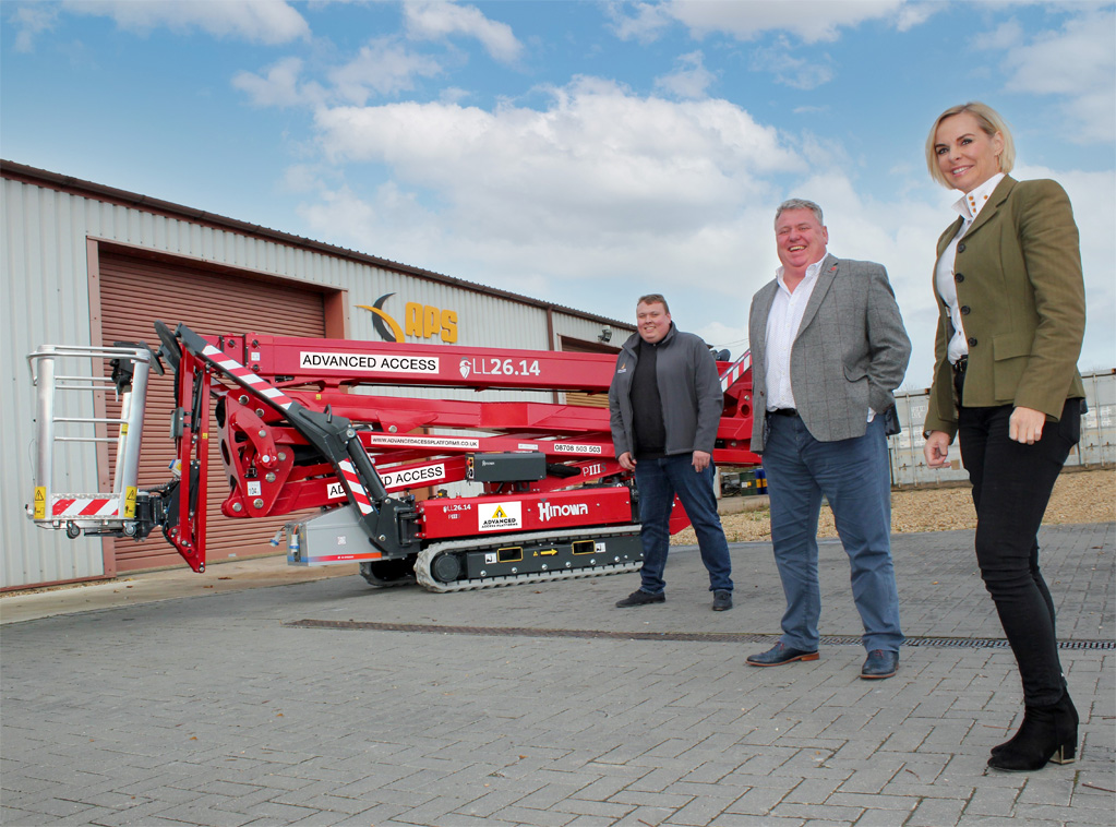 Advanced Access invests in high-level Hinowa spider platforms