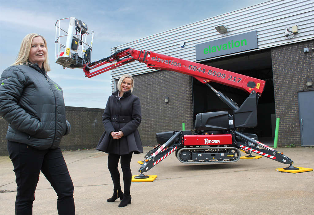 Revolutionary Hinowa TeleCrawler13 attracts first UK buyer
