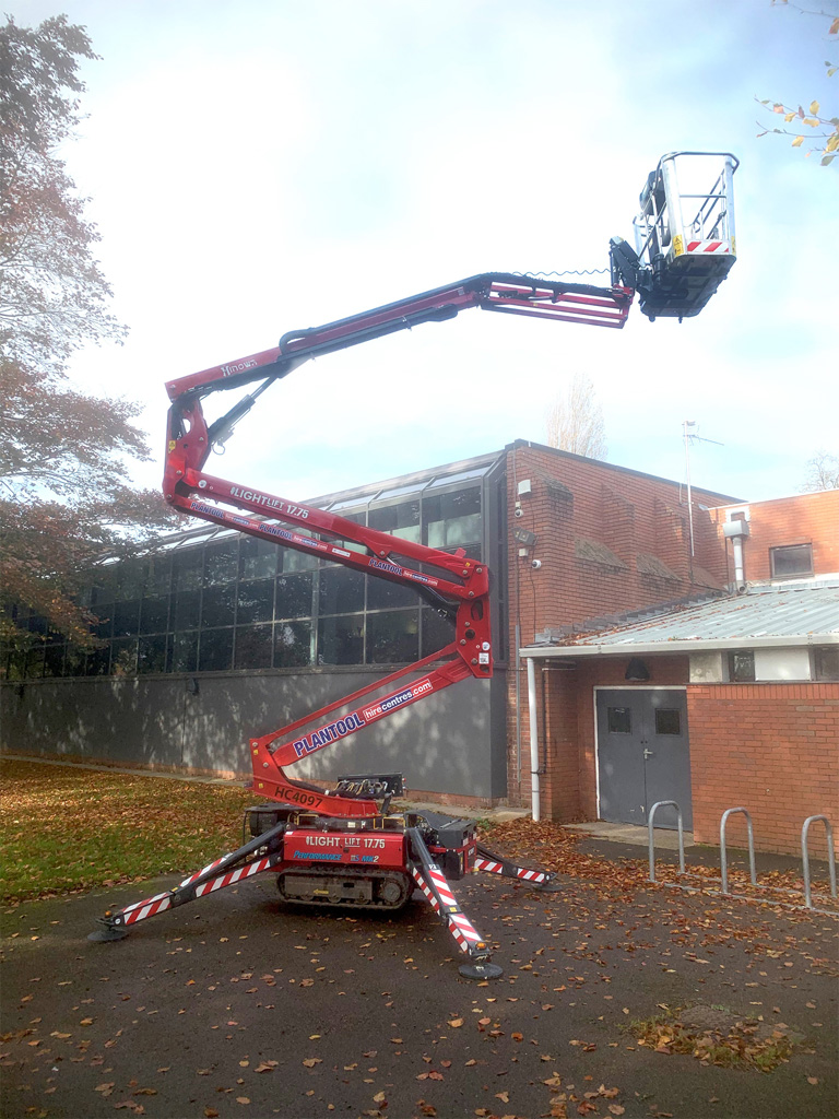 Plant hire specialist makes 'easy decision' to take first Hinowa spider lift