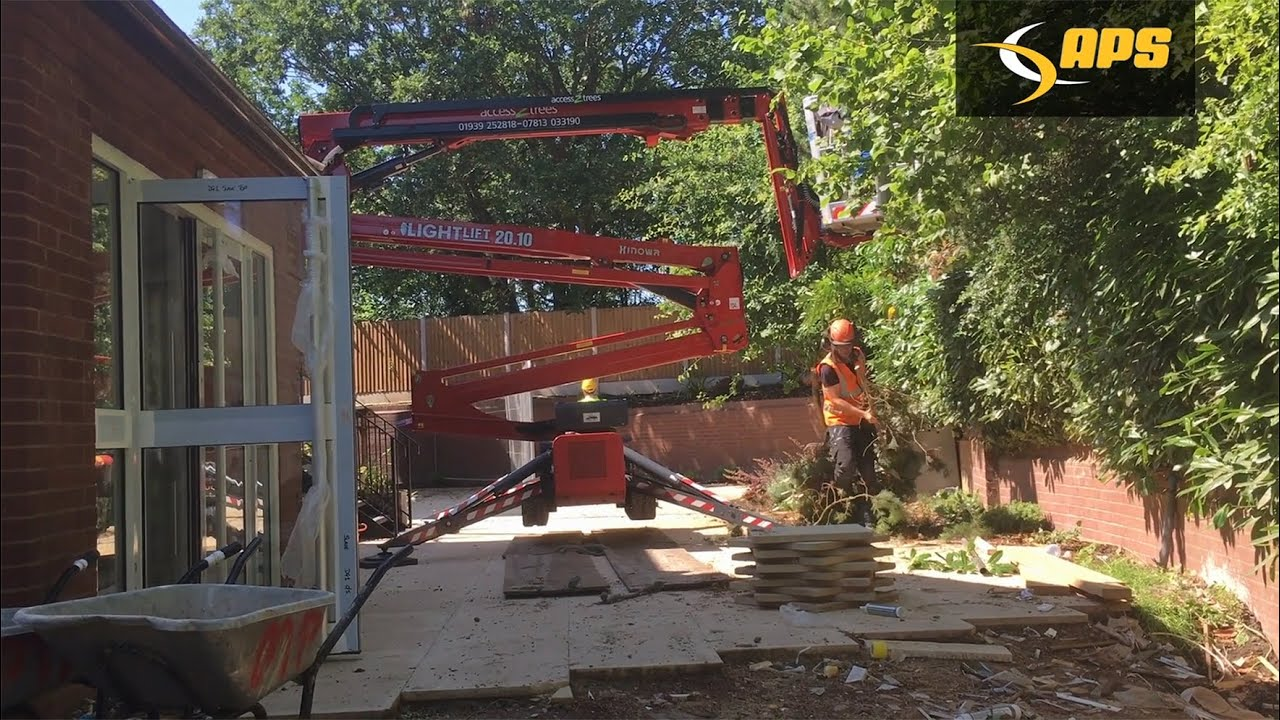 Video case study: Hinowa spider lift delivers arb advantage