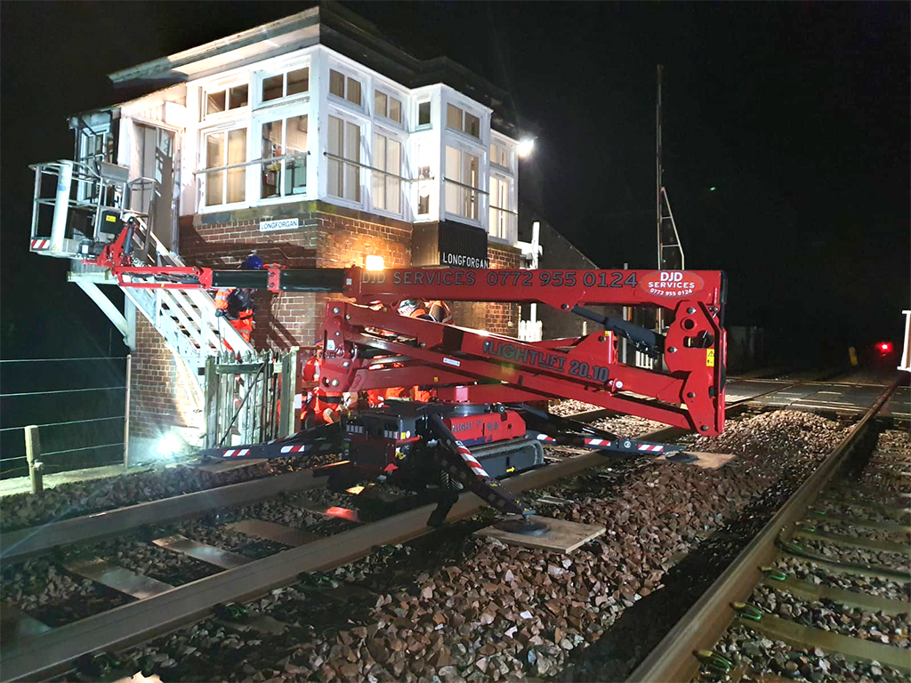 Hinowa platforms just the ticket for rail maintenance says rental specialist