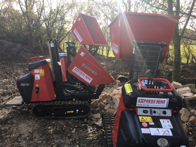 More Hinowa Mini-Dumpers for Express Hire