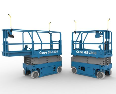 Genie Lift Guard Introduced for Scissors and Mast Lifts