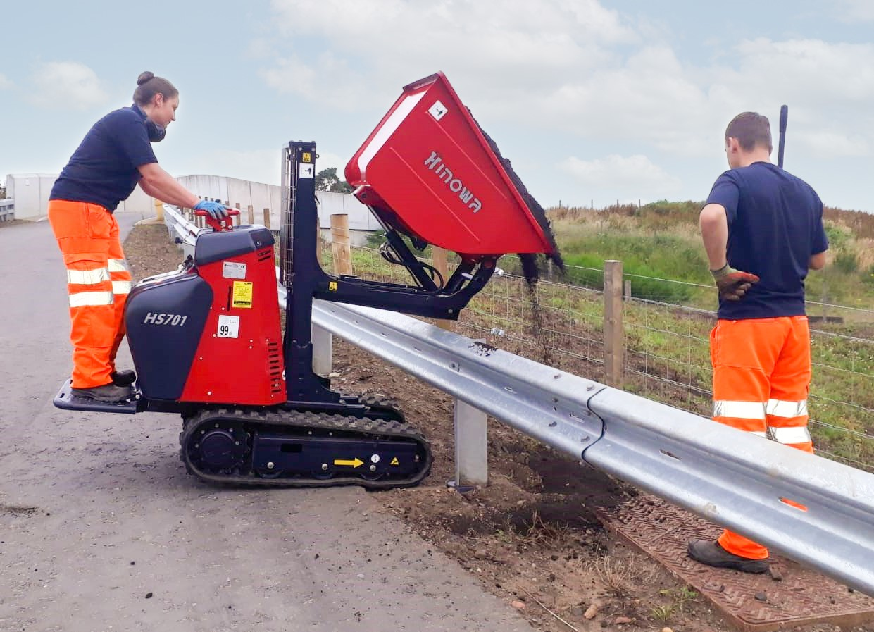 Tighter building plots drive demand for Hinowa minidumpers