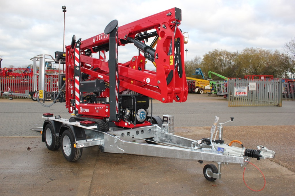 APS spider lift trailer takes powered access further