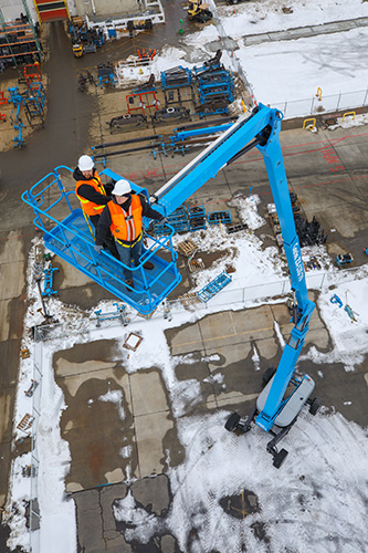 Genie Updates Largest Articulating Boom