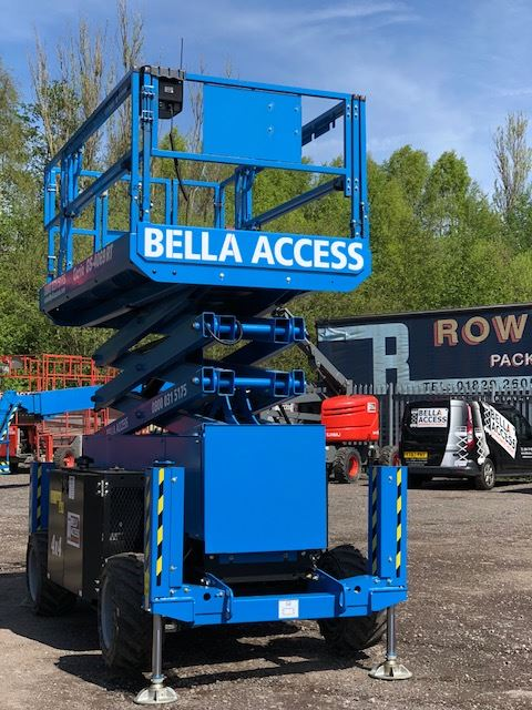 Bella Access Adds Genie Scissors to Fleet