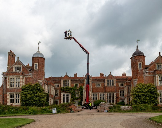Stately Home Tower Repair Made Easy By New Hinowa Boom