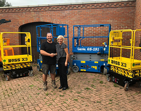 Plant hire company turns to APS for powered access first
