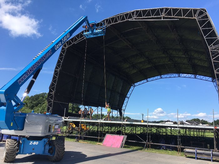 Genie Booms Complete Events Offering for Ashbrook