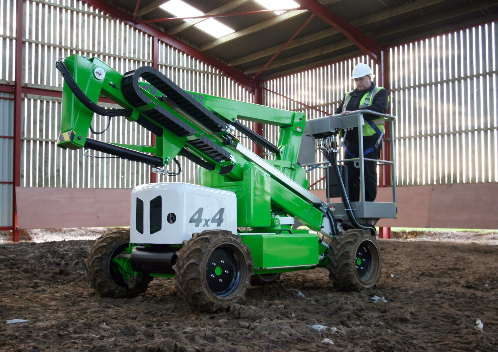 Niftylift Height Rider 12 boom lift